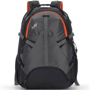 SkyBags School Back Pack Luma BPLUM40 Gray 20inch