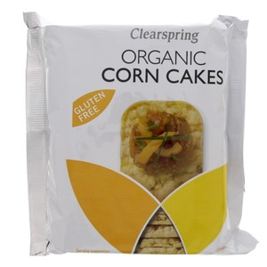 Clearspring Organic Corn Cakes 130g
