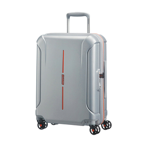 American Tourister Technum Spinner 4Wheel Hard Trolley 55cm Aluminium
