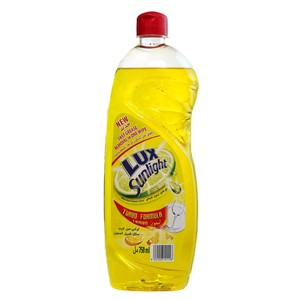 Lux Dishwashing Liquid Lemon 750ml