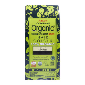 Radico Colour Me Organic Hair Colour Soft Black 1pkt