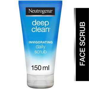 Neutrogena Facial Scrub Deep Clean Invigorating Normal to Combination Skin 150ml