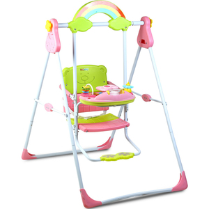 First Step Baby Swing QS-12B Pink