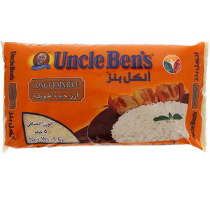 Uncle Ben's Long Grain Rice 5kg