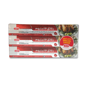 Lulu Multipurpose Aluminium Foil 25sq.ft x 3pcs