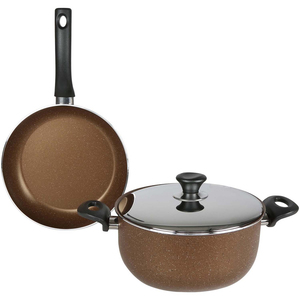 Methap Dutch Oven 24cm + Fry Pan 26cm
