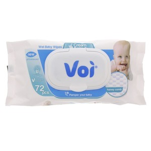 Voi Baby Wet Wipes Cream Lotion 1pkt 72pcs