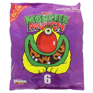 Walkers Monster Munch 6 X 22g