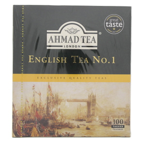 Ahmad Tea English Tea No.1 100 Tagged Tea Bags