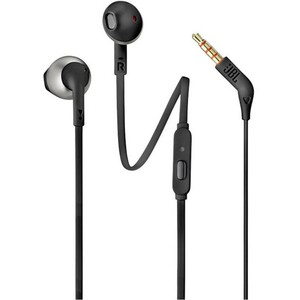 JBL In-Ear Headphone T205 Black