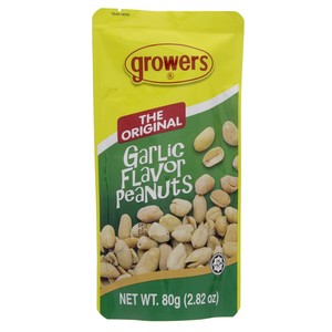 Growers The Original Garlic Flavor Peanuts 80g