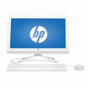 "HP All-in-One Desktop 20C400NE Celeron 19.5"" Snow White"