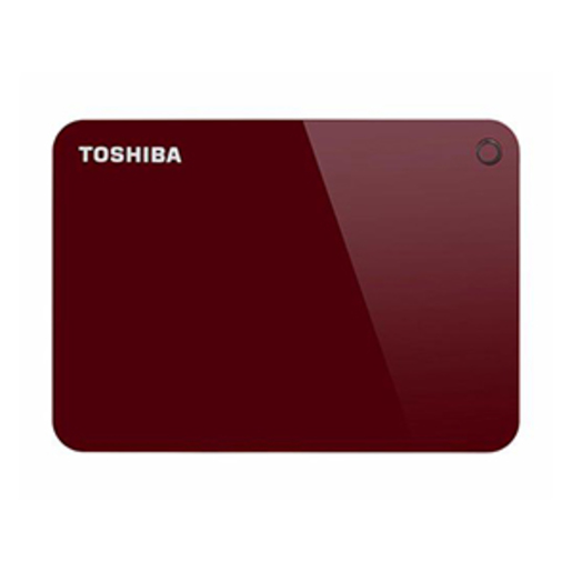 Toshiba Hard Disk Canvio Advance HDTC930 3TB Red