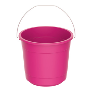 Cosmoplast Bucket EX-40 10Litre Assorted Color 1pc