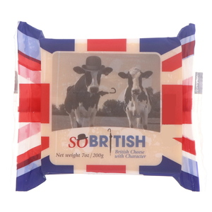So British Mild Coloured Cheddar Cheese 200g