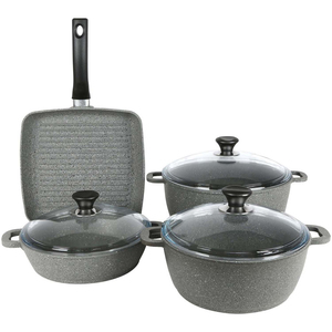Methap Die Cast Cookware Set 7pcs DM