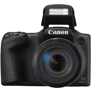 Canon PowerShot Digital Camera SX420-IS 20MP Black