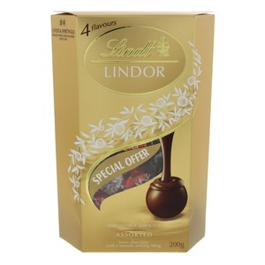Lindt Lindor Irrseistibly Smooth Assorted 200g