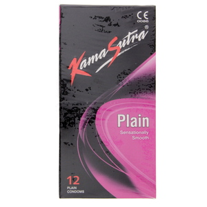 Kamasutra Plain Sensationally Smooth 12pcs Plain Condoms