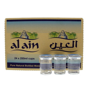 Al Ain Pure Natural Bottled Water 250ml