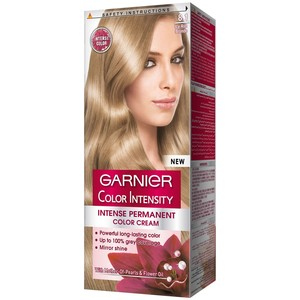 Garnier Color Intensity 8.1 Icy Ash Blonde Hair Color 1 Packet