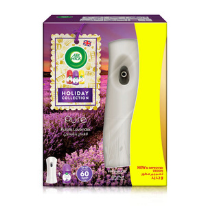 Air Wick Air Freshener Pure Purple Lavender Freshmatic Kit + Refill 250ml
