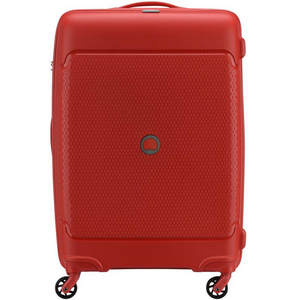 Delsey Sejour 4 Wheel Hard Trolley 75cm Red