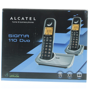 Alcatel Cordless Phone Sigma 110DUO