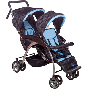 First Step Baby Twin Stroller QX259