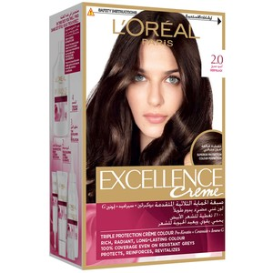 L'Oreal Paris Excellence Creme 2.0 Deep Black  Hair Color 1 Packet