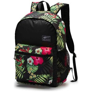 PUMA Academy Backpack Black Floral 07573323