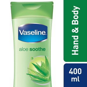 Vaseline Body Lotion Aloe Soothe 400ml