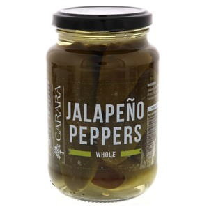 Carara Jalapeno Peppers Whole 400g