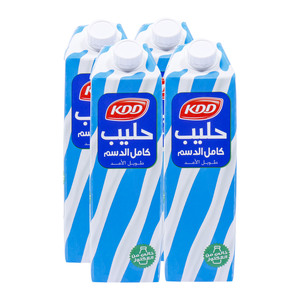 KDD Lactose Free Long Life Full Cream Milk 1Litre
