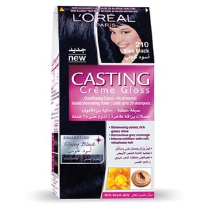 L'Oreal Casting Creme Gloss Blue Black 210 1 Kit