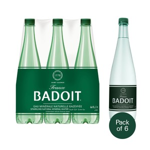 Badoit Sparkling Natural Mineral Water 1Litre