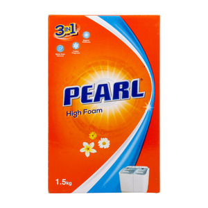 Pearl 3in1 High Foam Washing Powder 1.5kg