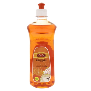 Lulu Dish Wash Liquid Premium Orange 500ml