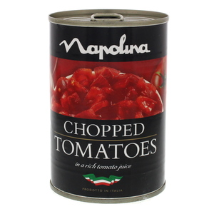 Napolina Chopped Plum Tomatoes in Rich Tomato Juice 400g