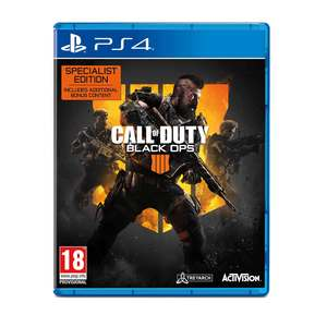 Call Of Duty Black Ops 4 Sony PS4 Special Edition