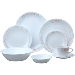 Corelle Dinner Set Apricot Grove 76pcs