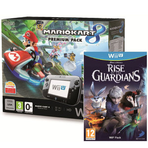 WiiU MarioKart 8 Console + 1 Assorted Game