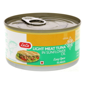Lulu Light Meat Tuna in Sunflower Oil 185g
