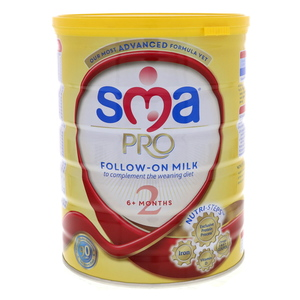 Sma Pro Follow On Milk 6+ Months 800g
