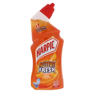 Harpic Peach & Jasmine Fresh Toilet Cleaner 500ml