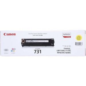 Canon Laser Toner Cartridge 731 Yellow