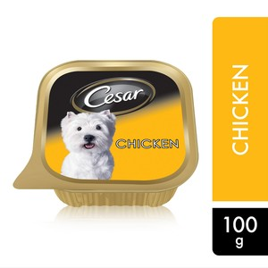 Cesar Chicken Wet Dog Food 100g
