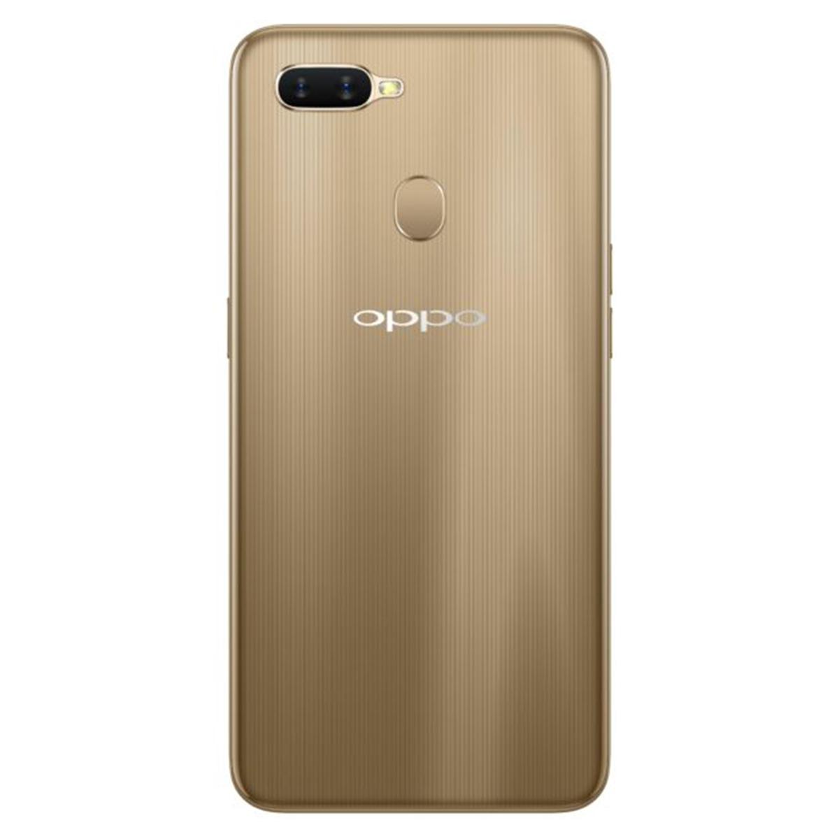 Buy Oppo A7 64GB Dazzling Gold - Smart Phones - Lulu
