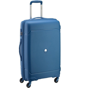 Delsey Sejour 4 Wheel Hard Trolley 75cm Blue