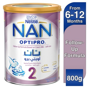 Nestle Nan Optipro Stage 2 From 6 to 12 Months Follow-Up Formula With Iron 800g